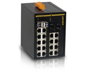 SICOM3216 - Коммутатор управляемый Layer 2: 16+2G портов, на Din-Rail, IEC61850