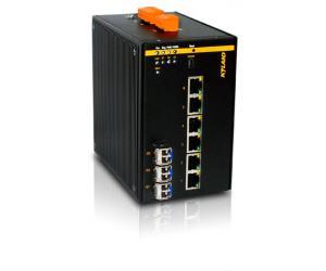 SICOM3306PT - Коммутатор управляемый Layer 2: 6+3G портов, Din Rail, IEEE1588v2