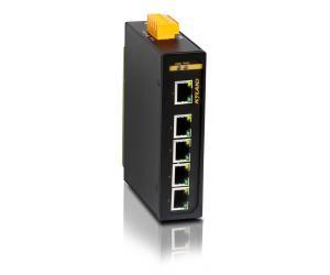KIEN1005G - Неуправляемый гигабитный 5-ти портовый коммутатор Green Ethernet, на DIN-Rail