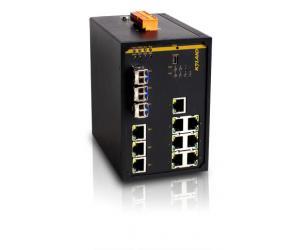 SICOM3307S - Управляемый коммутатор L2 до 10 портов: 3G + 7 портов с PoE+