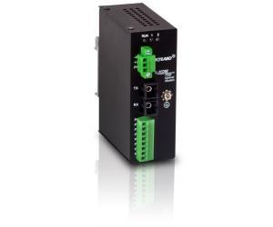 KOM200 - Медиаконвертер с конвертацией RS232/422/485 из оптики в медь
