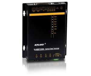 KODT2200/KODT2200B - Управляемый терминал с конвертацией RS в оптику, монтаж на стену и в стойку