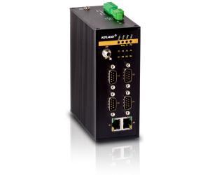 KPS2204/KPS1000 - 4-х портовый преобразователь интерфейсов RS-232/422/485 в Ethernet