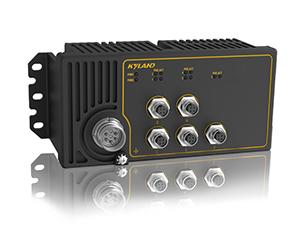 Aquam5S - Неуправляемый коммутатор IP67 с PoE: 5 x 100M портов, EN50155