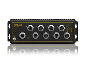 Aquam8G - Неуправляемый коммутатор IP65: 8 x 1000M портов, EN50155