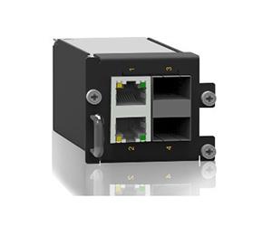 SM6.6-2GX2GE-1U - Ethernet модуль 2 слота SFP, 2х RJ45 порта