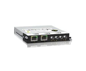 SM6.6-2ST-2T-0.5U - Ethernet модуль 2х100Base-FX оптических портов, ST разъем и 2х10/100Base-T(X) RJ45 портов