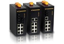 KIEN1009 - Неуправляемый 9-ти портовый коммутатор Green Ethernet, на DIN-Rail