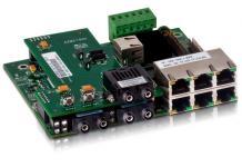 SICOM3009BA - Встраиваемый управляемый коммутатор: 9 портов 100М, искрозащищенный