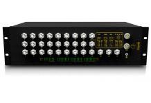 SICOM5424R - Защищенный управляемый коммутатор L2: 24+4G порта M12, IP40, в 19 конструктив