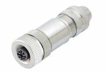 Разъем M12-A-4P-F - Разъем M12 A-Coding 4 Pin мама