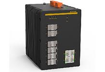 SICOM6416G - Управляемый коммутатор Layer 3, 4x10G + 12G портов, монтаж на DIN рейку.