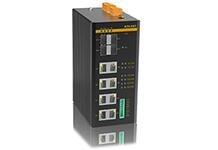 SICOM3000S - Управляемый коммутатор L2 до 12 портов: 2/4 1000M SFP слота + 4/8(100М/1Гб) портов с PoE+